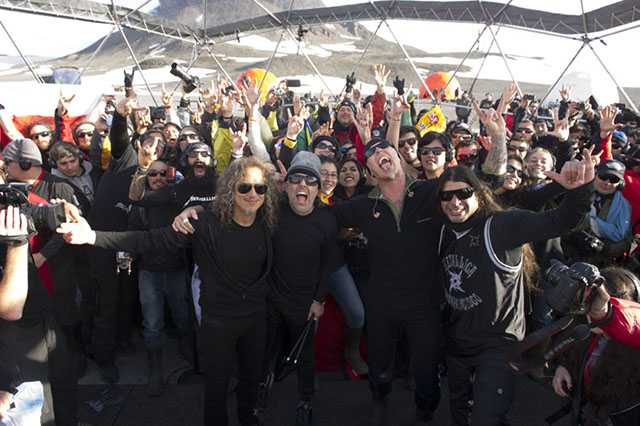 Metallica 'Freeze 'Em All' Show in Antarctica