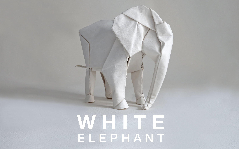 How to make: Origami Elephant (Fumiaki Kawahata) - video dailymotion | 1875x3000