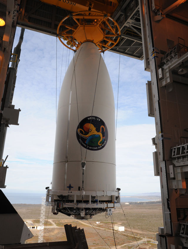 Menacing Octopus Launched into Space