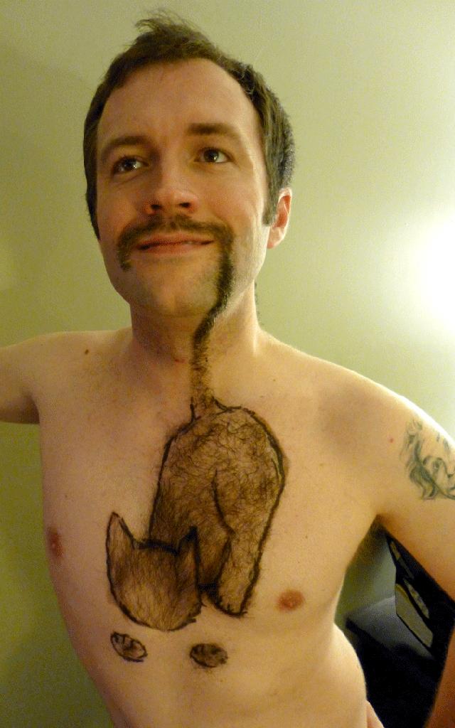Jonathan Burnside Feline Movember Mustache 2013
