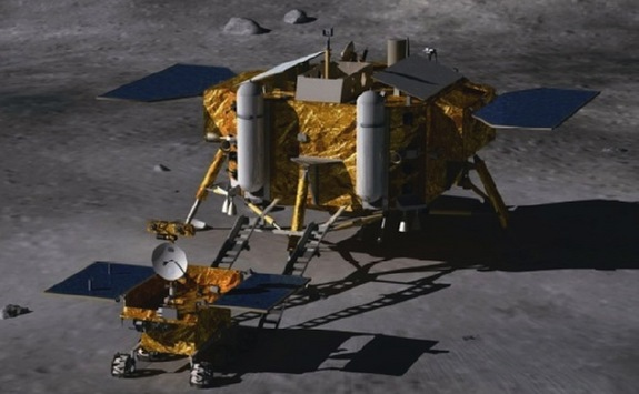 China Moon Lander & Rover