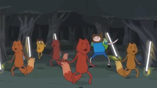 Adventure Time Parody of The Fox by Ylvis