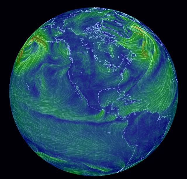 earth Weather Visualization