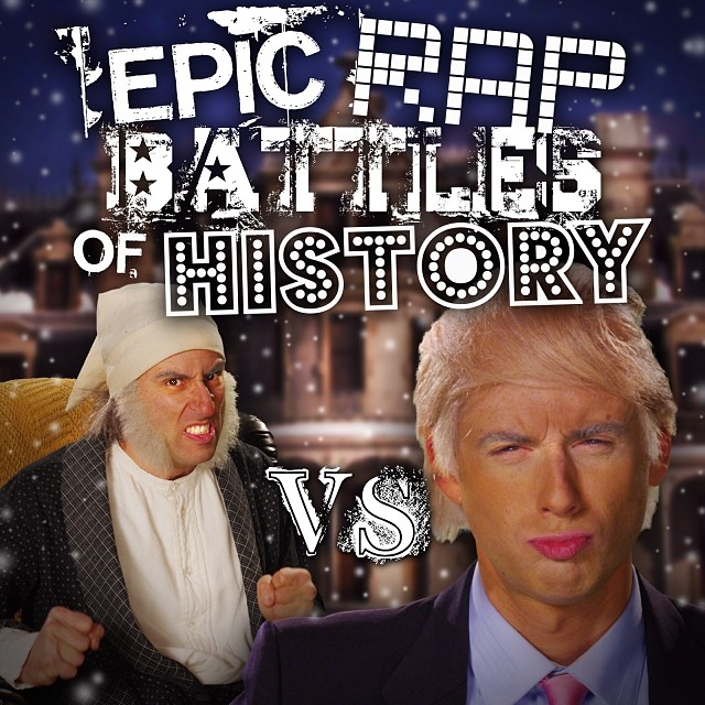 Donald Trump vs Ebeneezer Scrooge in Epic Rap Battles of History