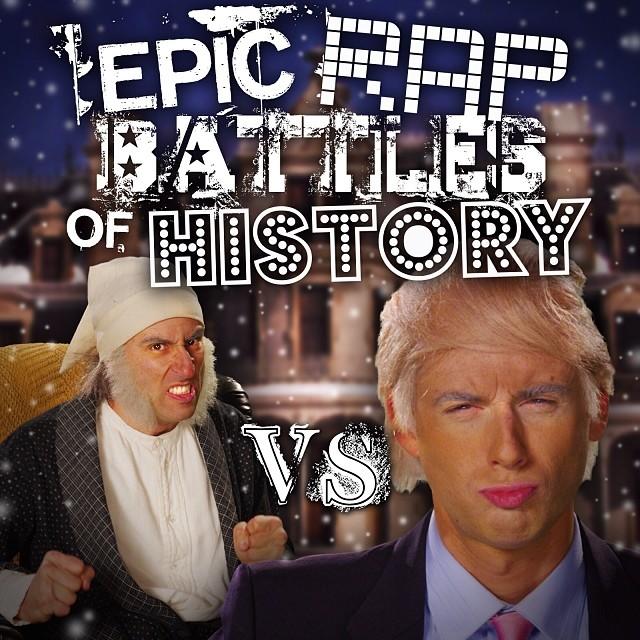 Donald Trump vs Ebeneezer Scrooge in Epic Rap Battles of History