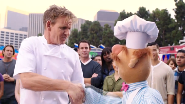Swedish Chef Faces Chef Gordon Ramsay in an Epic Muppet Cook-Off