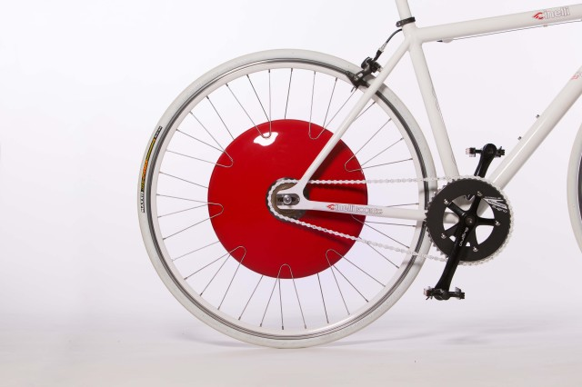 Copenhagen Wheel, A Bike Wheel With a Built-In Powered Pedal Assist System
