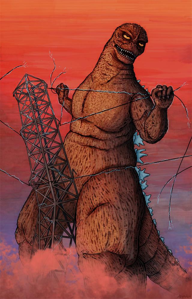 AUGZILLUST - Godzilla and August