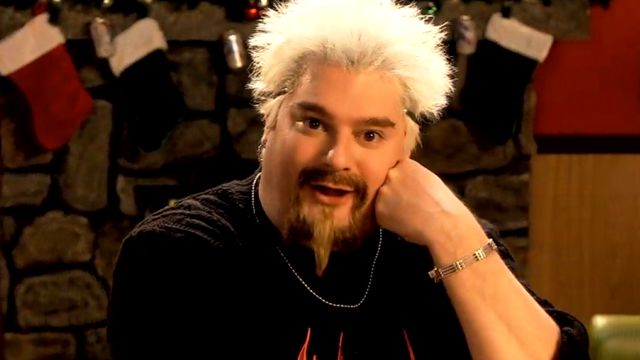 Guy Fieri Christmas Special on Saturday Night Live