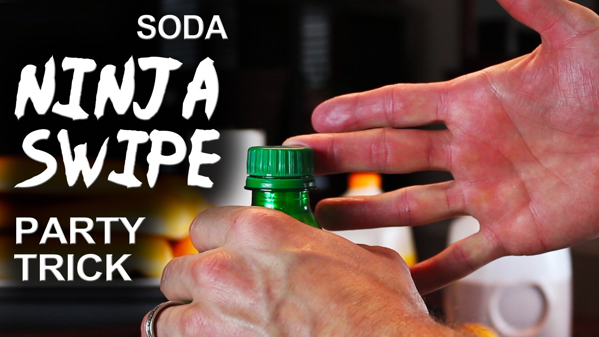 How to Open Shaken Soda Without Making a Mess Using the 'Soda Ninja Swipe'