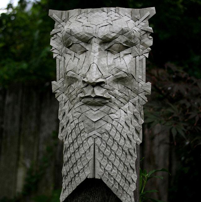 Origami Masks by Joel Cooper