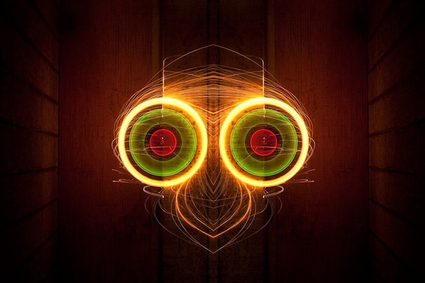 Light Rorschach by Nicolas Rivals