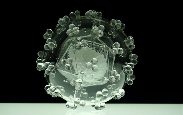 Glass Microbiology by Luke Jerram