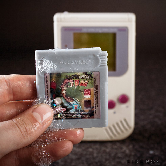 Game Boy Video Game Soap Cartridges