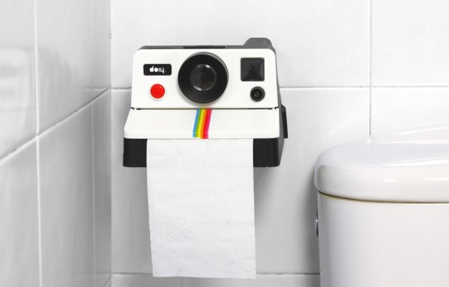 Polaroll Toilet Paper Dispenser