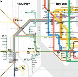Regional Transit Diagram for Super Bowl XLVIII