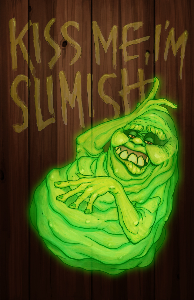 SLIMARCH - Slimer from Ghostbusters and March