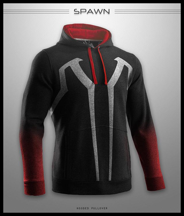 custom hoodie designs based on comic book heroes and antiheroes