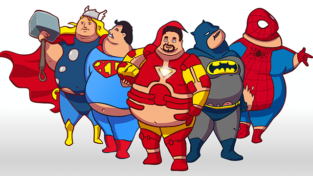 Big Hero 6 Cartoon Characters Names : Supersized heroes interactive website showing how