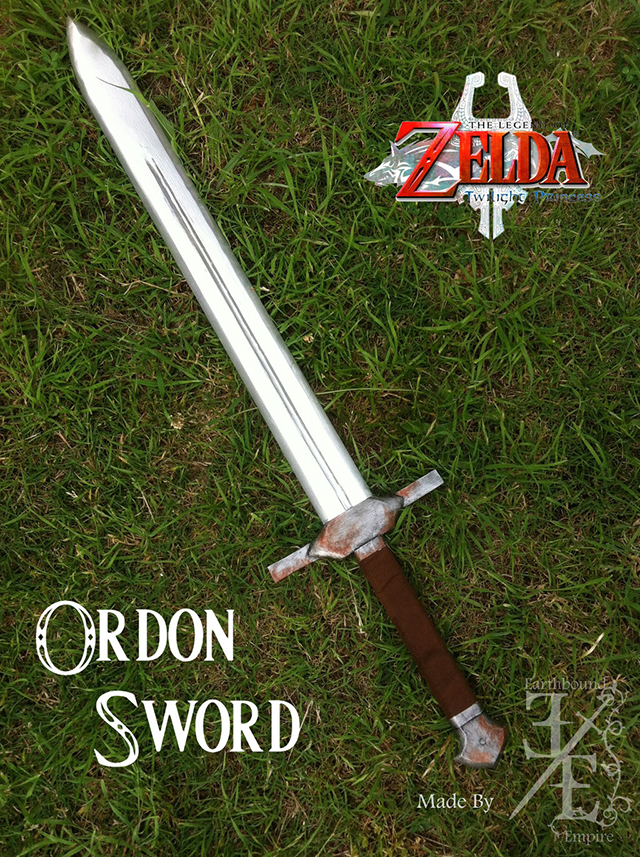 How To Make Links Ordon Sword From The Legend Of Zelda Twilight