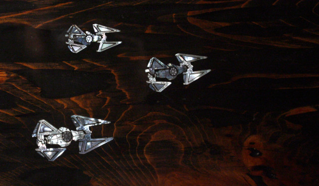 Star Wars Mother of Pearl Inlays by Ted Lincoln
