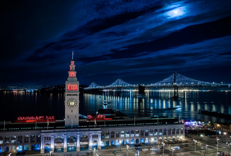 Monumental Bay Lights Project Goes Live in Grand Lighting Ceremony