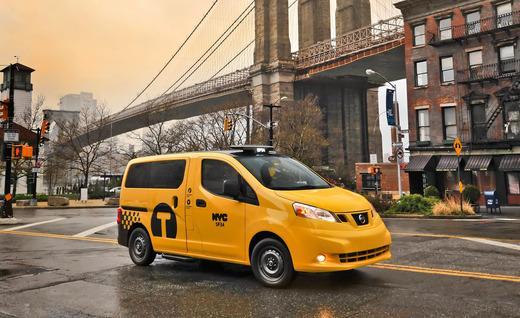 Nissan NV200 New York City Taxi Cab