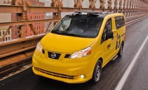 Nissan NV200 New York City Taxi Cab
