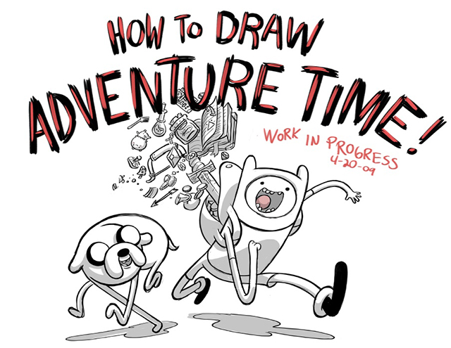 How to Draw Finn and Jake from Pendleton Ward's 'Adventure Time' Series