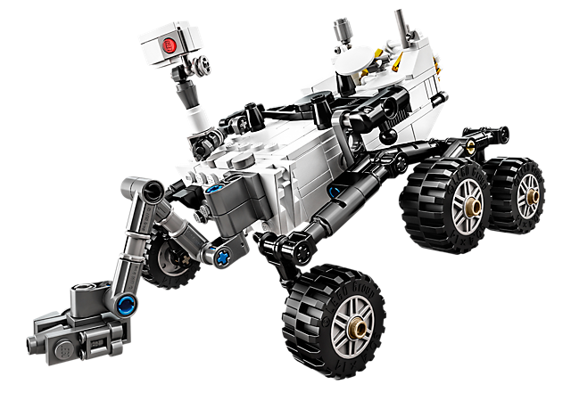NASA Mars Science Laboratory Curiosity Rover