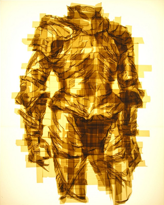 Packing Tape Illustrations by Mark Khaisman