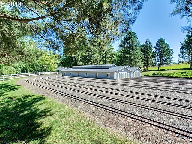 House with Mini Railroad in Oregon