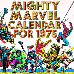 2014/1975 Marvel Desktop Wallpaper Calendar