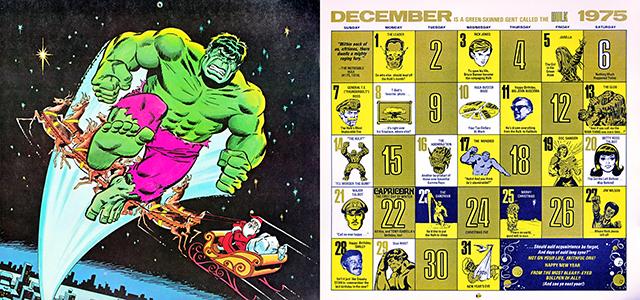 2014 1975 Marvel Desktop Wallpaper Calendar