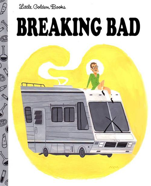 Breaking Bad Cover by Maxime Mary