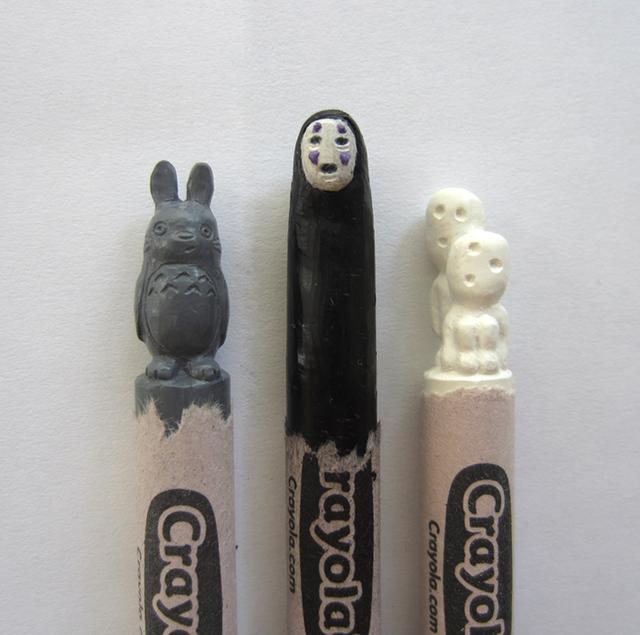 Crayon Sculptures