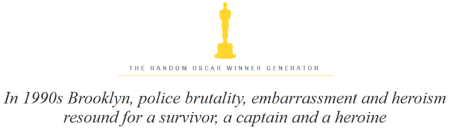 The Random Oscar Winner Generator