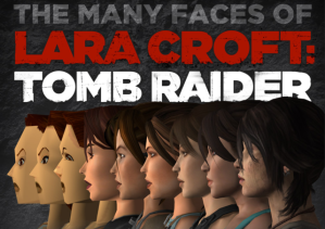 The Many Faces of Lara Croft: Tomb Raider