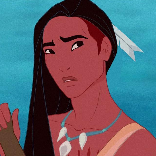 Disney Princesses as Men