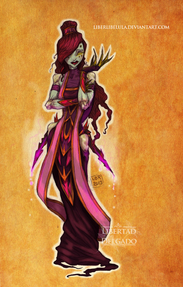 Disney Princesses Redesigned as 'World of Warcraft' Characters