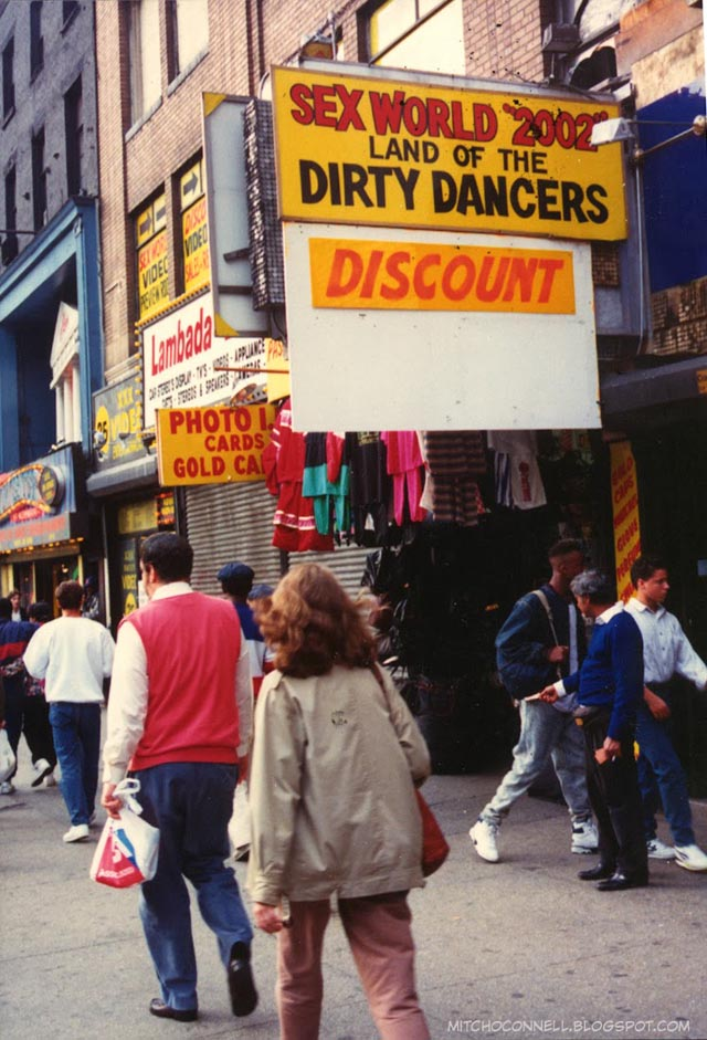 42nd Street in the 80s and 90s