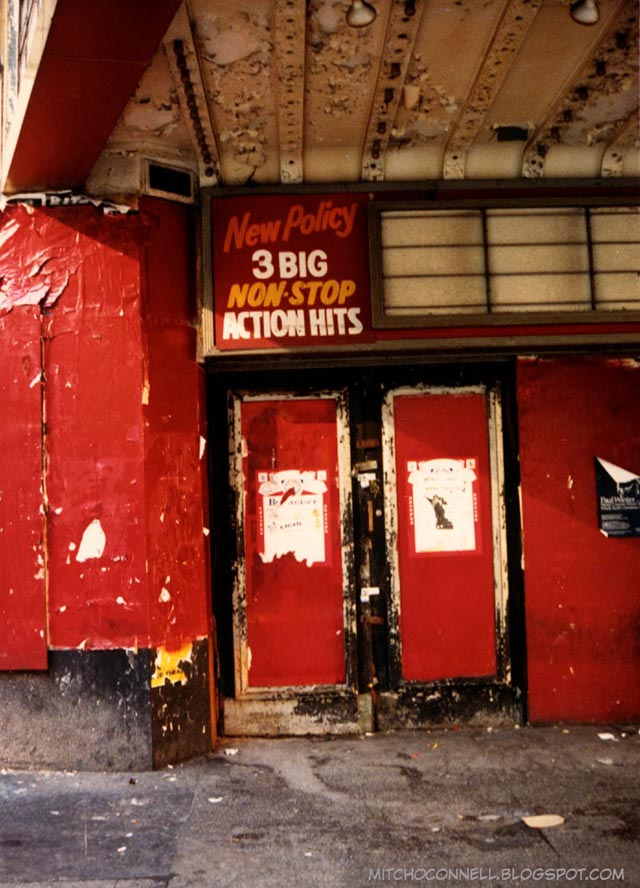 Snapshots of 42nd Street in the 80s and 90s