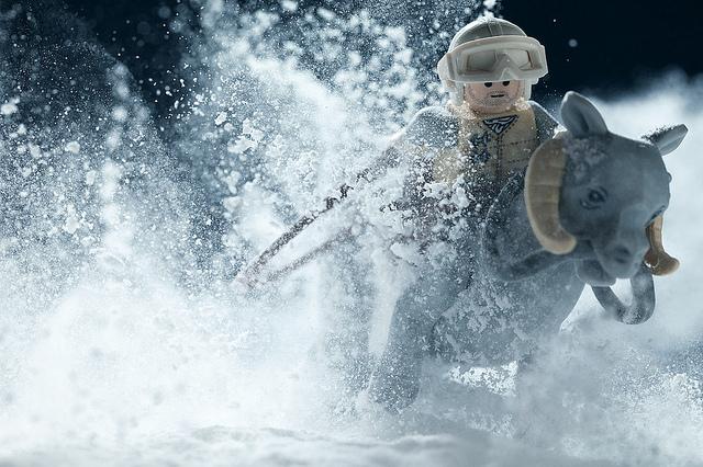 Star Wars Hoth Scenes