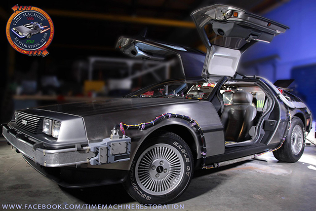 The A Hero Delorean Time Machine RESTORED