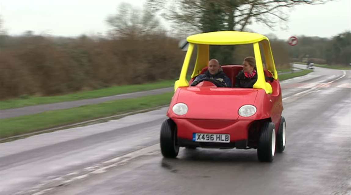 Adult-Sized Little Tikes Cozy Coupe
