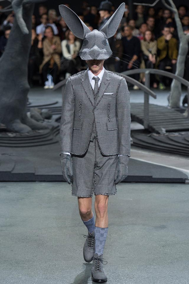 High Fashion Animal Headgear by Thom Browne