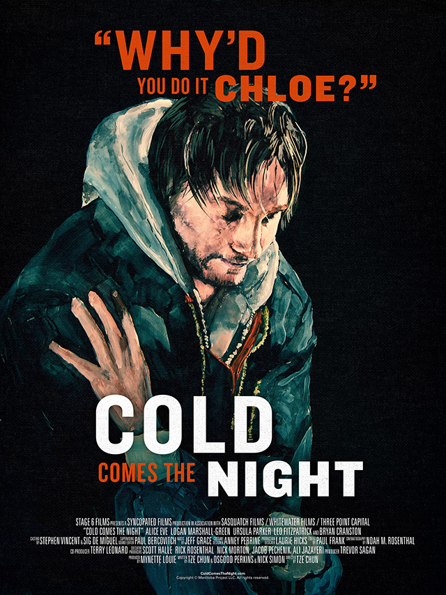 Cold Comes the Night Poster by Tze Chun