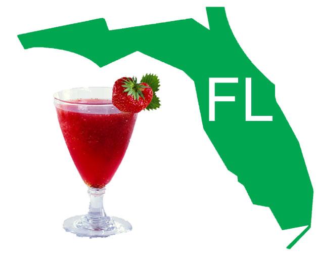 Florida Signature Cocktail - Rum Runner