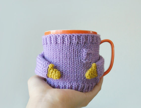 Custom Handmade Knitted Sweaters Made for Mugs