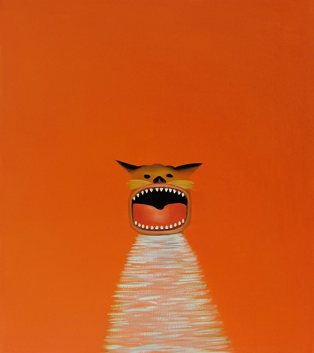 Orange Cat by Nicholas Chistiakov